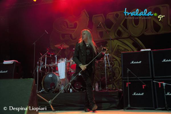 Saxon 1 rockwave 2013
