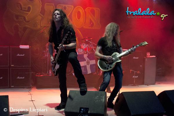 Saxon 7 rockwave 2013